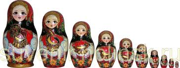 Russian Hut - Nested Doll